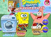 Spongebob Spala Pantalonii