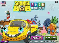 Spongebob Transporta Mancarea