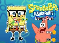 Spongebob Vizita la Dentist