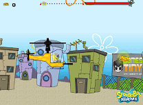 Spongebob cu Elicopterul