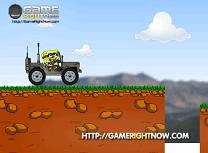 Spongebob cu Jeepul