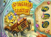 Spongebon cu Tractorul
