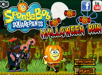 Spongebob Alearga de Halloween