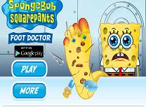 Spongebob la Doctorul de Picioare
