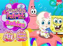 Spongebob si Patrick Au Grija de Bebelus