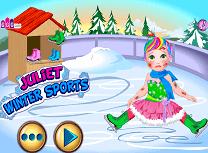 Sporturi de Iarna cu Juliet