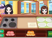 Standul de Burgeri si Hamburgeri