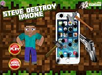 Steve Distruge iPhone-ul