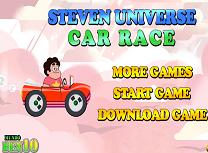 Steven Universe Cursa cu Masina