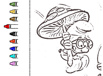 Strumfi 2 de Colorat