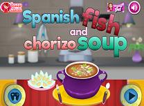 Supa de Peste in Stil Spaniol