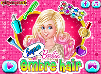 Super Barbie Coafura Ombre