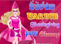 Super Barbie Curatenie de Ziua Recunostintei