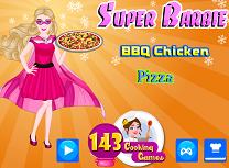 Super Barbie Gateste Pizza cu Pui