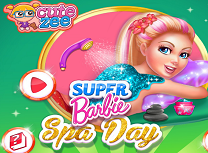 Super Barbie Zi la Spa