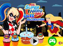 Super Eroinele DC Decoreaza Tortul
