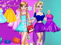Surorile Frozen Rivale in Moda