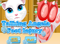 Talking Angela Ranita la Picior
