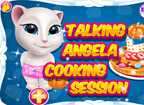 Talking Angela Sesiune de Gatit