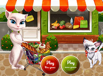 Talking Angela Super Cumparaturi