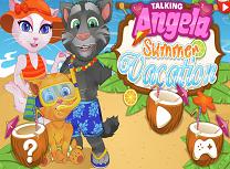 Talking Angela Vacanta cu Familia