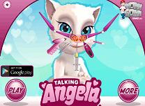 Talking Angela la Doctorul de Nas