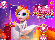 Talking Angela la Hollywood