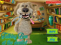 Talking Ben la Dentist