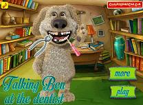 Talking Ben la Dentist