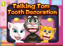 Talking Tom Decoratii Pentru Dinti