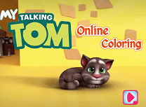Talking Tom de Colorat