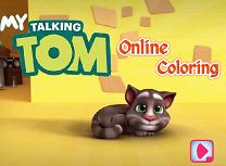 Talking Tom de Colorat