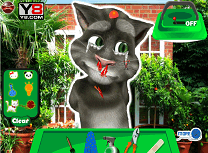 Talking Tom la Doctor