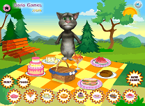 Talking Tom la Picnic