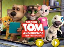 Talking Tom si Prietenii Numere Ascunse