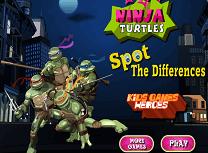 Testoasele Ninja Diferente