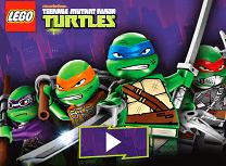 Testoasele Ninja Lego