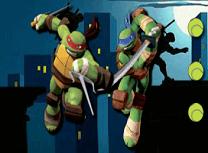 Testoasele Ninja Tenis de Masa
