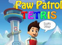Tetris cu Paw Patrol