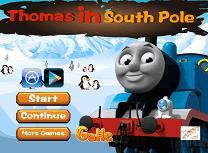 Thomas la Polul Sud