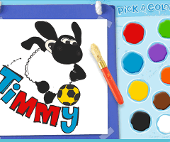 Timmy Time de Colorat