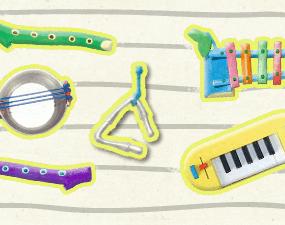 Timmy Time si Instrumentele Muzicale