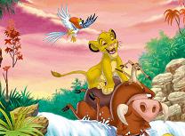 Timon si Pumba Litere Ascunse