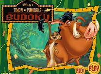 Timon si Pumba Sudoku