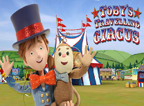 Toby si Circul Calator Puzzle