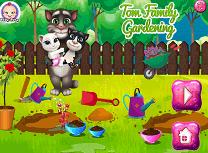 Tom Gradinarit cu Familia