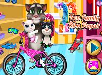 Tom Repara Bicicleta Familiei