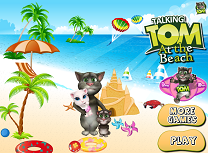 Tom cu Familia la Plaja