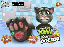 Tom la Doctorul de Picior