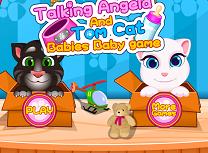 Tom si Angela Bebelusi